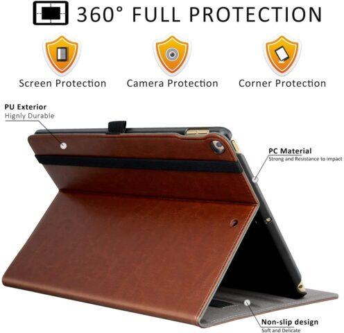 leather and folio iPad 5 case.