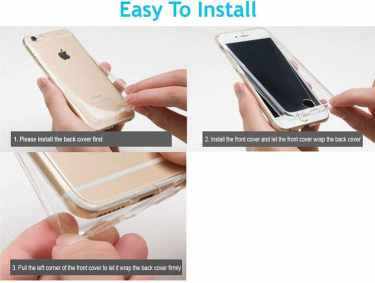 FinestBazaar Shockproof 360 ° cover for iPhone 5s