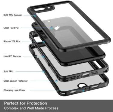 Temdan iPhone 8 Plus Case