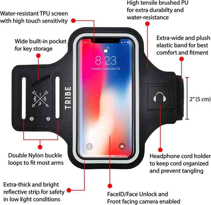 Tribe iPhone 8 plus  armband case