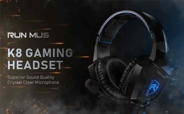 RUNMUS Gaming Headphones