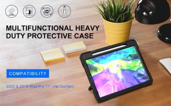 BRAECN for iPad Pro 11 2018 360 Case