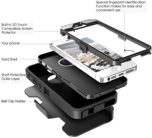 iPhone 5s defender case/cover
