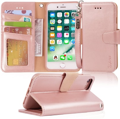 Arae iPhone 7 Wallet Case/Cover