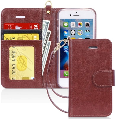 FYY iPhone 5s Wallet Case/Cover