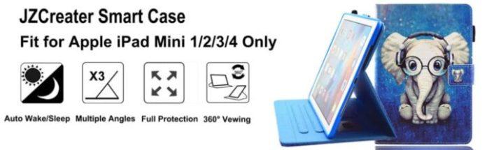 JZCreater iPad Mini 3 Wallet Cover