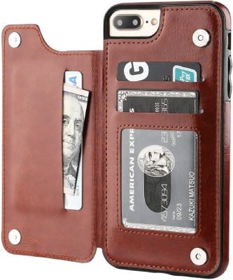 OT ONETOP iPhone 7 Plus Wallet Case/Cover
