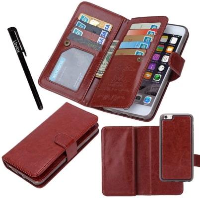 Urvoix iPhone 6 Plus Wallet Case/Cover
