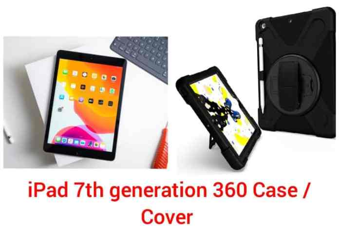 iPad 7th generation 360 Case