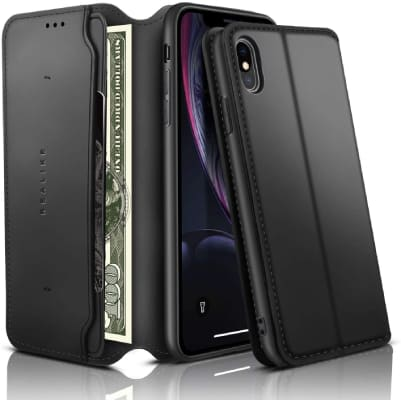 Realike iPhone XS Max Wallet case/cover