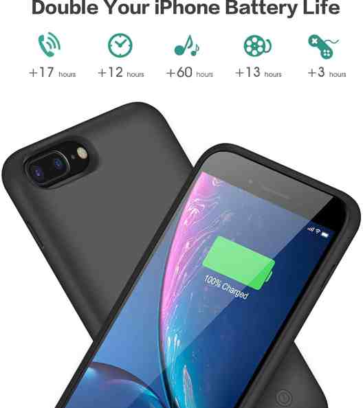 Trswyop iPhone 8 Plus Battery Case