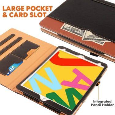 ZoneFoker for iPad 7th generation Wallet Case