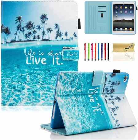Dteck iPad 5th Generation Wallet Case/Cover