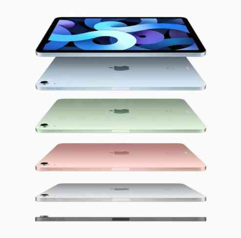 iPad Air 4 colours