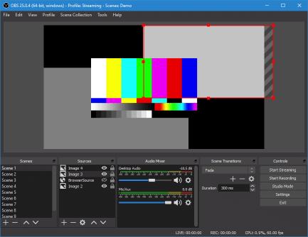 OBS Studio Demo free screen recorder for windows