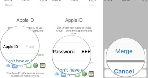 change Apple ID/switch Apple IDs
