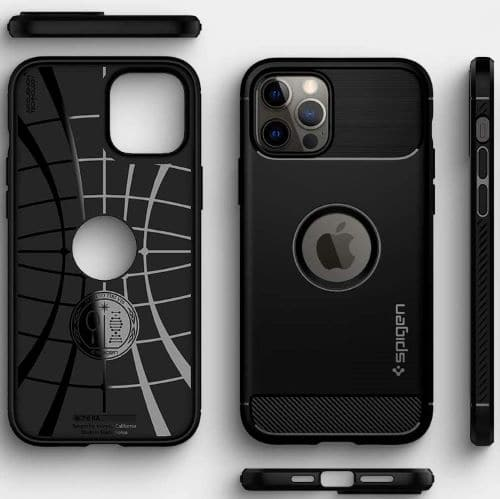 Spigen Rugged Armor for Apple iPhone 12 pro cases