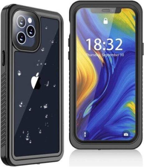 Oterkin for iPhone 12 Pro Max Case, IP68 Waterproof Case