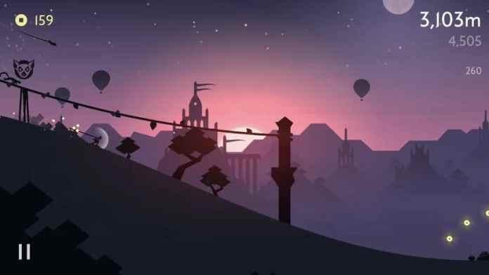 iPad game: Alto's Odyssey