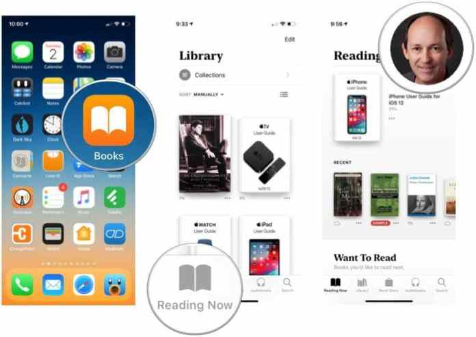 Share a book through iCloud Family Sharing