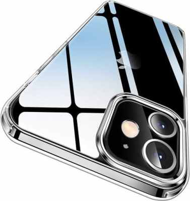 CASEKOO Crystal Clear for iPhone 12 Case