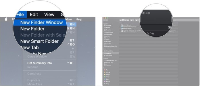 Customize the Finder toolbar- use Finder on your Mac