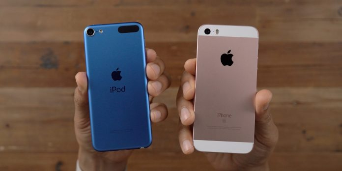 iPod Touch 7 with iPhone SE