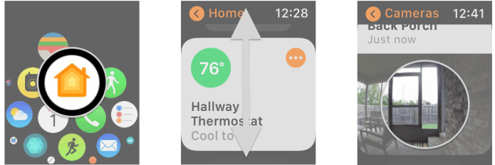 View and control your HomeKit cameras