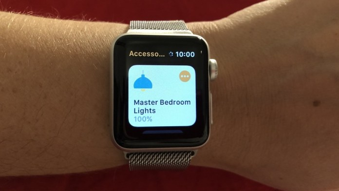 HomeKit FAQ- Does HomeKit work with the Apple Watch?