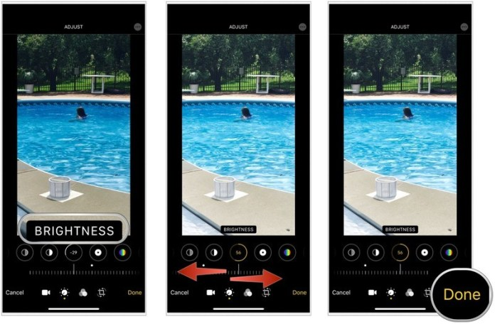Adjust the brightness of your video