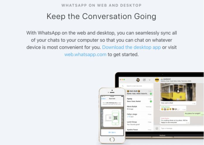 Web Whatsapp support