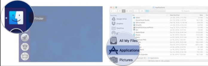 use the Dock on your Mac
