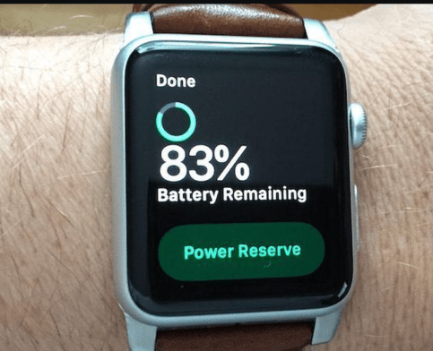 How to fix Apple Watch battery life Power Reserve