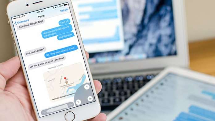 delete iMessages on iPhone and iPad