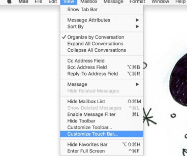 Customize the main Mail tools