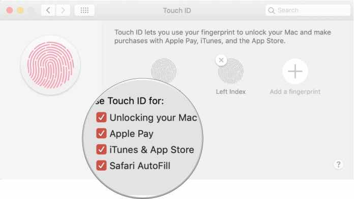 use Touch ID on MacBook Air or MacBook Pro