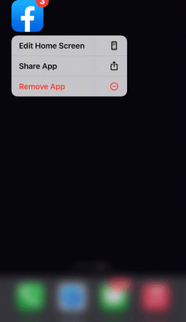 move apps on iPhone - delete apps