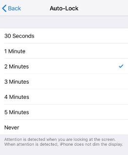 Change Auto-Lock on iPhone
