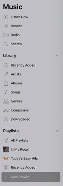 playlists in apple music-make playlists in music app