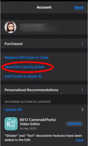 redeem gift cards apple