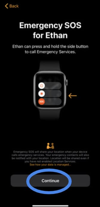 set up a new Apple Watch