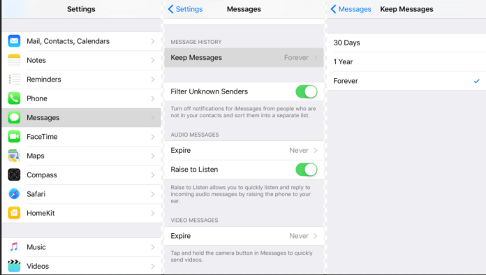 optimize iPhone storage