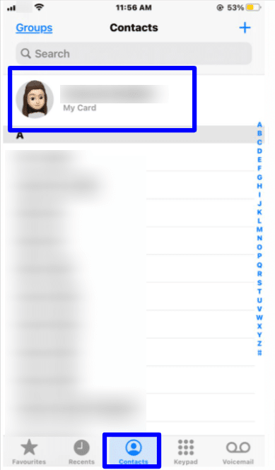 Create relationships for contacts on iPhone