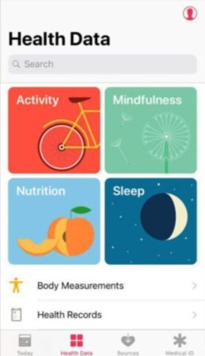 Health App iPhone