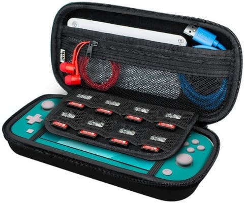 Budget Friendly: Orzly Carry Case for Nintendo Switch Lite - Portable Travel Carry Case