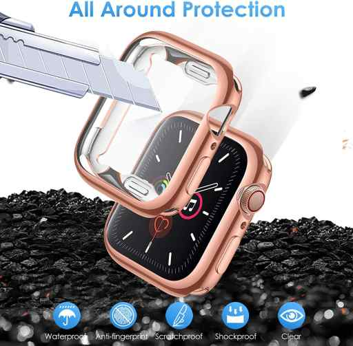 LORDSON Protector Case for Apple Watch 6