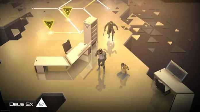Deus Ex GO- Puzzle Games for iPhone
