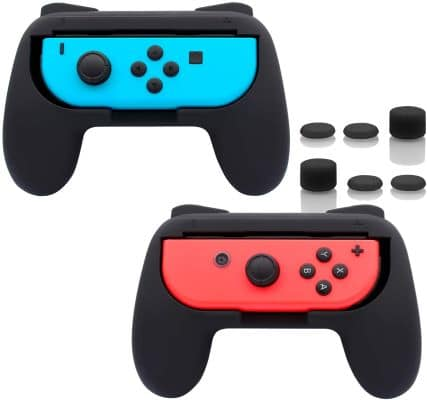 FASTSNAIL Grips for Nintendo Switch Joy-Cons