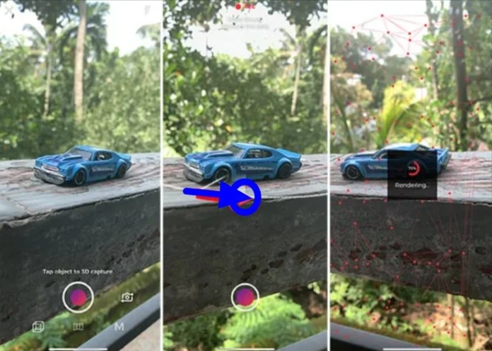 Create and convert 3D photos in iPhone