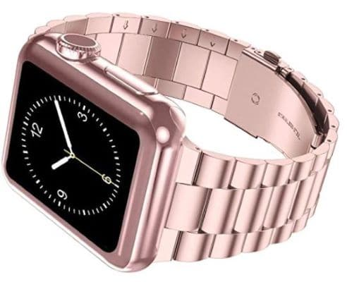iiteeology Rose Gold Stainless Steel band